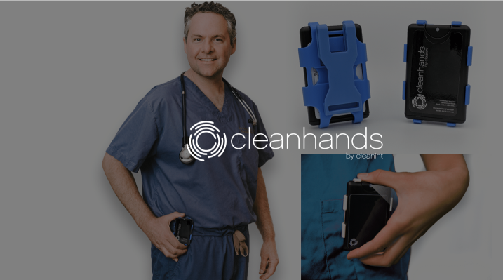 cleanhands - portable easy to use sanitizer
